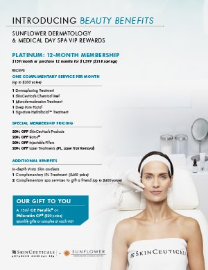 Skin Care PLATINUM Membership