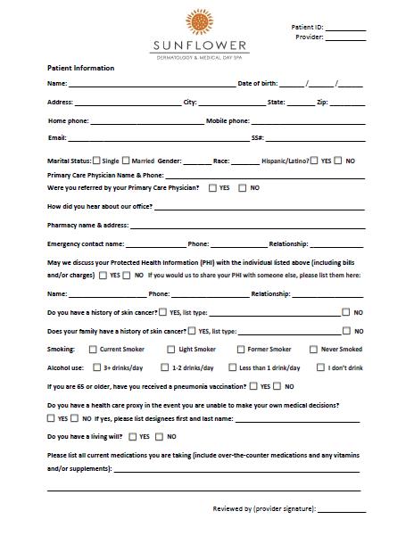 new-patient-paperwork